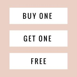 BUY ONE GET ONE FREE MY ENTIRE CLOSET!!!